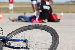 bike accident involving an uninsured cyclist